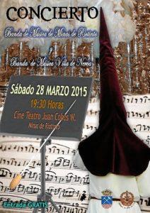 cartel concierto semana santa 2015