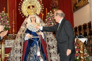 medalla HUELVA VIRGEN DE LOS DOLORES-538