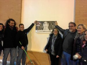 pegada carteles Podemos huelva-667
