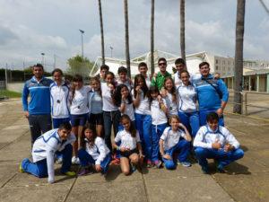 Real Club Marítimo de Huelva en la competición de barcos.