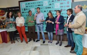 150429. 'Bodegas Contreras', 'USISA', 'Onubafruit' y 'Olibeas' presentaron sus nuevos productos en 'Exquisitamente', que organiza el restaurante Terranova