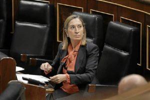 Ana-Pastor--en-su-escano-en-el-Congreso-de-los-Diputados