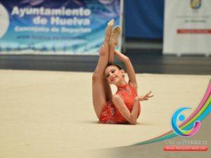 Ángela Martín, gimnastas del Rítmico Colombino.