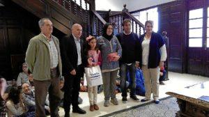 El concejal y el personal de la Biblioteca entregaron los galardones a los mejores lectores