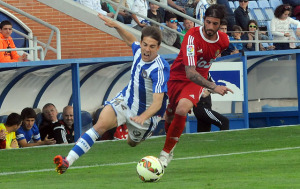 Álvaro Antón perseguido por Rueda. (Espínola)