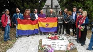 Homenaje republicano IU Huelva