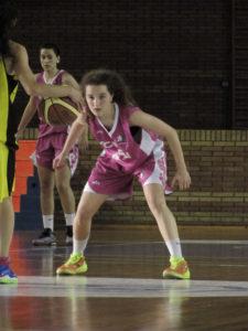 Andrea Alcántara, jugadora del CB Conquero.