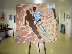Obra premiada modalidad Bellas Artes