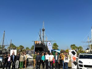 Porsche Panamera Gourmet 2015_Huelva_Puerto de Palos_2