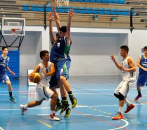 Ciudad de Huelva-Lepe en categoría cadete.