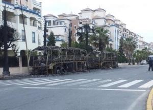 autobuses Punta del Moral