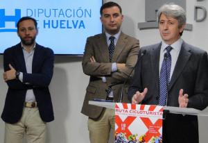 Presentación de la XX Ruta de cicloturismo Cepsa Moguer-El Rocío.