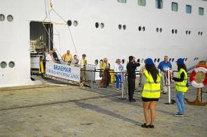 turistas crucero