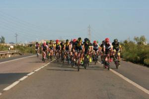 Circuito de ciclismo Costa   de la Luz en Palos de La Frontera.
