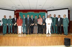171 ANIVERSARIO GUARDIA CIVIL EN HUELVA-20150513 Autoridades y condecorados 171 aniversario Guardia Civil