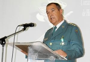 171 ANIVERSARIO GUARDIA CIVIL EN HUELVA- Coronel discurso 171 aniversario Guardia Civil