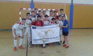 Nazareno, equipo juvenil de fútbol sala.