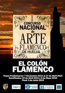 CARTEL COLON FLAMENCO