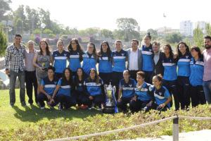 Rececpción de la Junta de Andalucía al Fundación Cajasol Sporting.