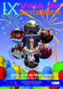 Cartel 2015 Velada de Santa Maria