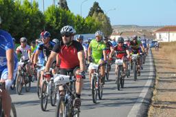 Ruta cicloturista en Niebla.