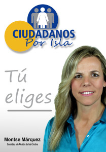 Ciudadanos Por Isla Cartel Farolas 70x100