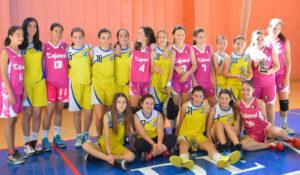 Clausura Escuela Municipal de Baloncesto de Aljaraque.
