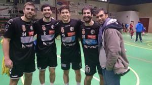 Jugadores sudamericanos del PAN Moguer.