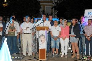Cierre campaña en Isla Cristina.