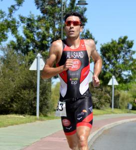 Samer Ali Saad, ganador del III Triatlón en Isla Canela.