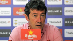 Juan Carlos Mandiá, técnico del Sabadell.