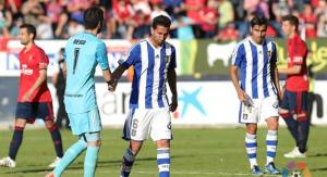 Descenso del Recreativo de Huelva ante Osasuna.