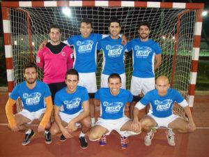 Equipo de la Liga de fútbol sala de Holea.