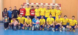Plantilla del PAN Moguer temporada 2014/15.