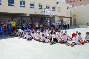 Día del baloncesto en el Colegio Moliere.