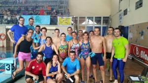 Nadadores del CDM Tartessos.