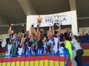 Cajasol Sporting, campeón de la Copa de la Reina.