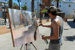 pintura al aire libre en La Palma del Condado4563prensa
