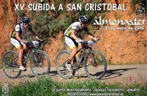 Subida a San Cristóbal en Almonaster la Real.