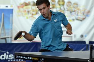 Joao Pedro, ganador de las XII Horas de tenis de mesa en Ayamonte.