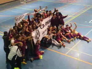 CD Onuba 2014 de fútbol sala.
