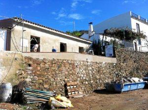 Casa Cuartel del Puerto de La Laja.