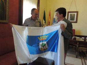 Recepción en el Ayuntamiento al corredor Rodrigo Ruiz.
