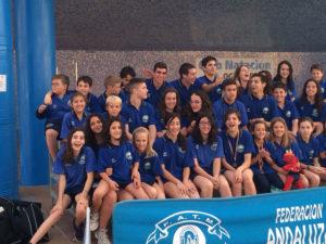 Club Natación Huelva en Ogíjares.