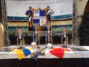 Premios de la EDCA Cup 2015.