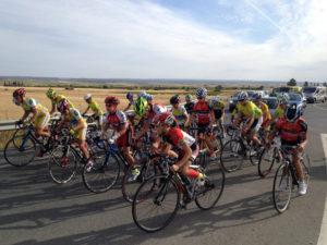 Circuito ciclista en Bollullos del Condado.