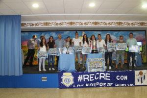 Homenaje de la Peña Internauta al Fundación Cajasol Sporting.