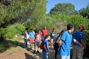 Jovenes-de-AONES-en-la-Laguna-Primera-de-Palos