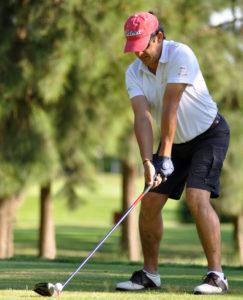 Juan Carlos Concepción, golfista ayamontino.