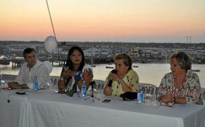 La Alcaldesa de Isla Cristina, Antonia Grao presidio esta presentacion